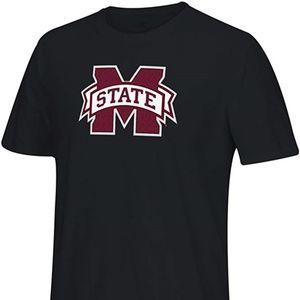 Adidas Mississippi State Bulldogs Men's Shirt Lrg